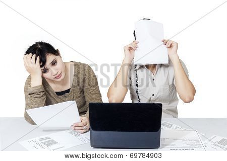 Stressful Couple Get Many Bill 2