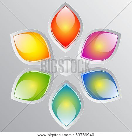 Abstract colorful design 	Abstract colorful design