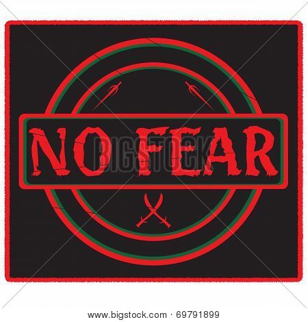 No Fear Emblem