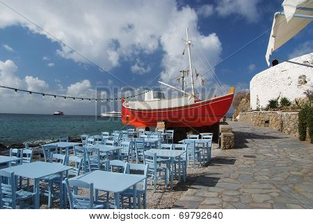 Taverna by the sea