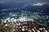 picture of caucus  - Cloud pockets form above the Caribbean Sea - JPG