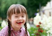 pic of playgroup  - Portrait of beautiful young girl smiling  - JPG