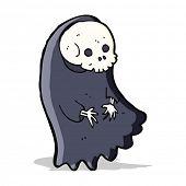 picture of ghoul  - cartoon spooky ghoul - JPG