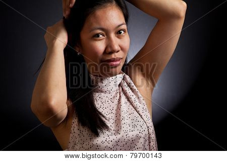 Portrait Of An Asian Girl