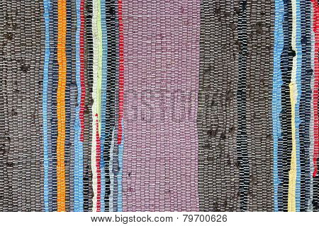 Colorful Doormat Texture