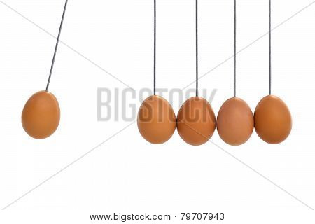 Pendulum with eggs