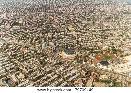 Aerial View Of Queens Borough, New York