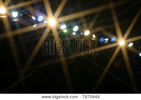 Broadway stage lighting