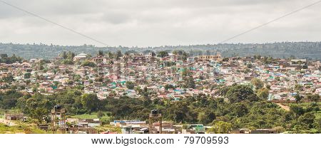 Aerial View Of The City Of Harar