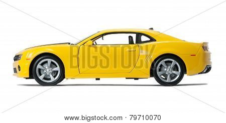 New Yellow Model Chevrolet Camaro Sports