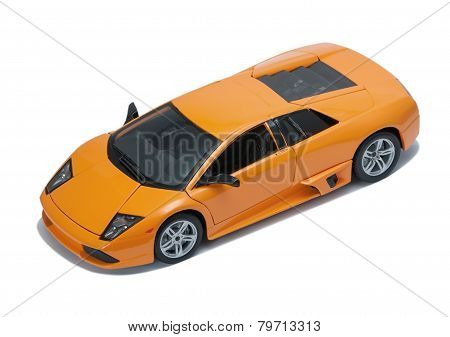 Collectible Toy Model Lamborghini Top View