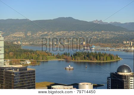 Vancouver Harbour, BC, Canada
