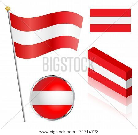 Austrian Flag Set
