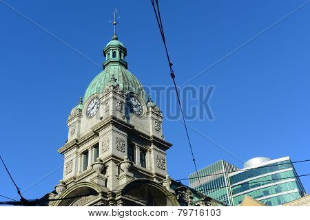 Historic Building, Vancouver, BC, Canada