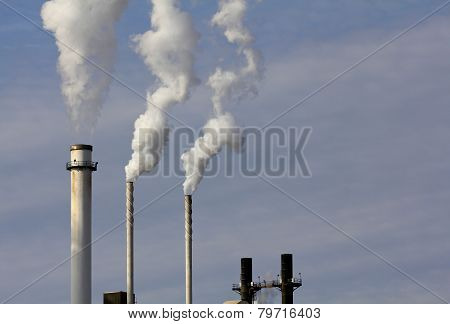 Three Smokestacks
