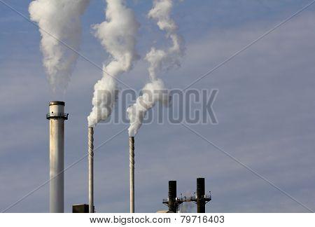 Three Smokestacks