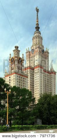 Main building of Moscow state university.