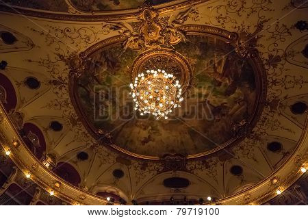 Croatian National Theatre ceiling