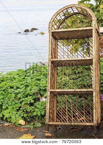 Old Bamboo Cupboard