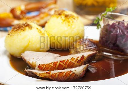 bavarian roasted pork