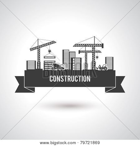 Building Construction Poster