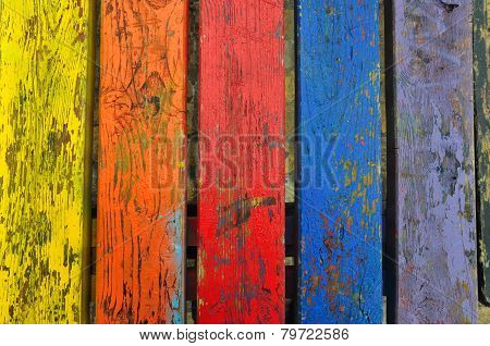 Chipped Paint Wood Texture