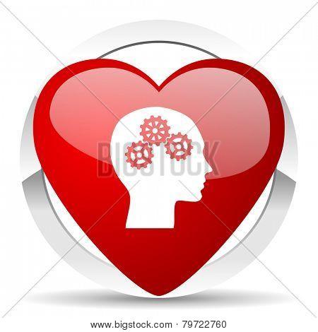 head valentine icon human head sign