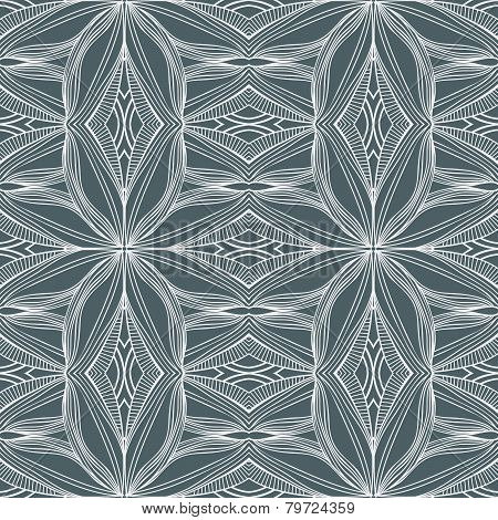 Striped Forms Seamless Pattern