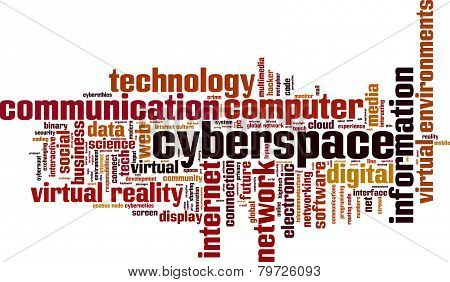 Cyberspace Word Cloud