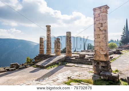 Ruins Of An Ancient Temple