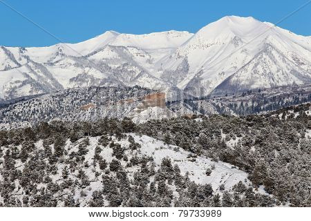 Winter in Durango, CO