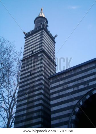 White-Black Minaret