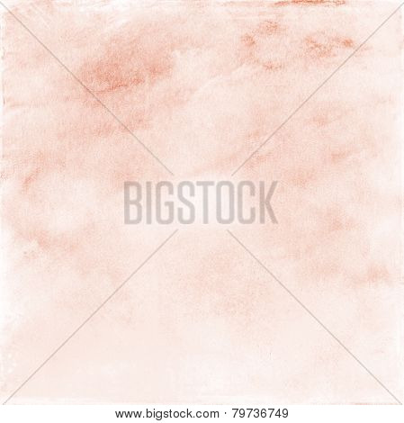 Beige  And  Pink Watercolor Background