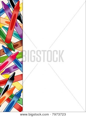 Crayons Side Frame