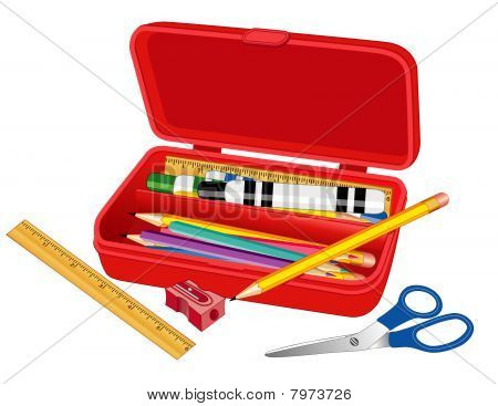 Pencil Box for School, Home and Office