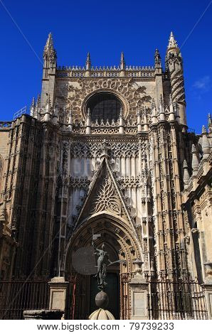 Seville, Andalusia, Spain, Cathedral.