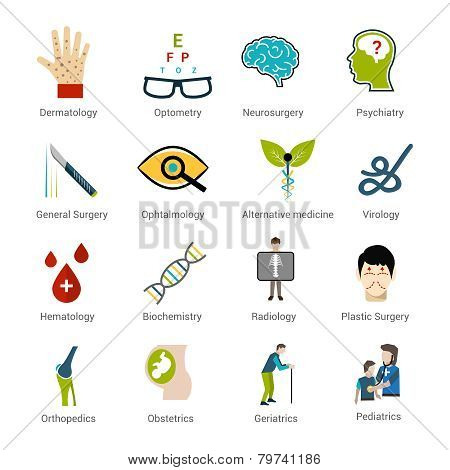 Medical Specialties Set