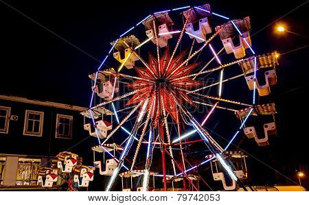 Amusement Park Carousel; Instagram