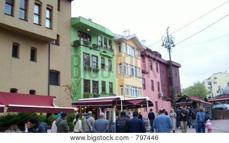 Colourful Buildings