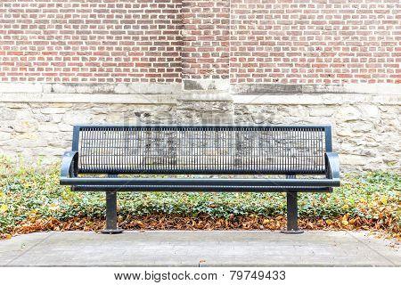 Iron Street Bench