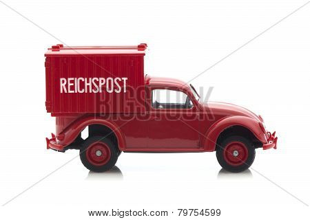 Old VW Bettle Van