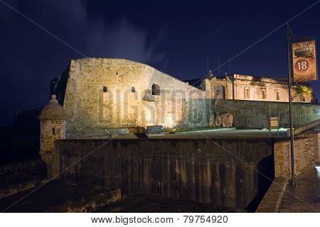 Castillo San Cristobal In San Juan Puerto Rico