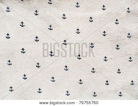 Fabric texture with anchors