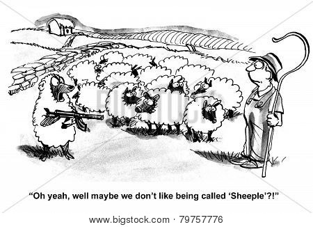 Bullying Sheepherder