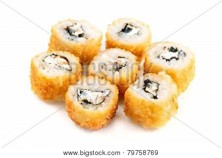 Tempura Roll With Salmon And Cream Cheese