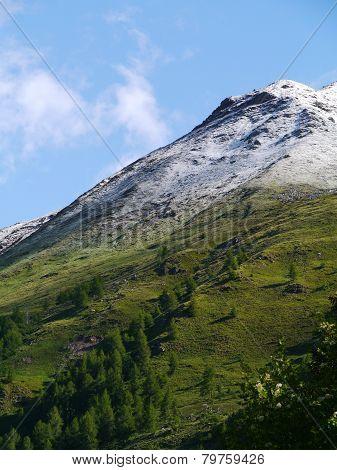 Bernina pass or Passo del Bernina