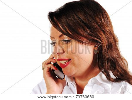 Women To Call With A Mobile Phone