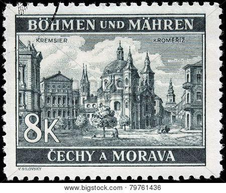 Kromeriz Stamp