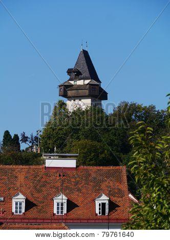 The glockenturm at Schlossberg hill