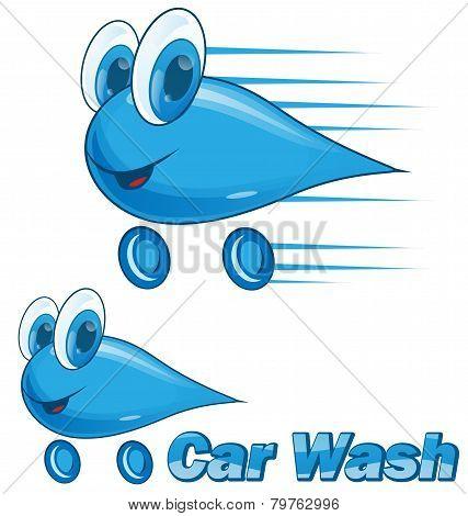 car wash drip cartoon